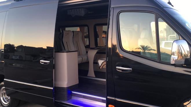12 seater van rental Dubai